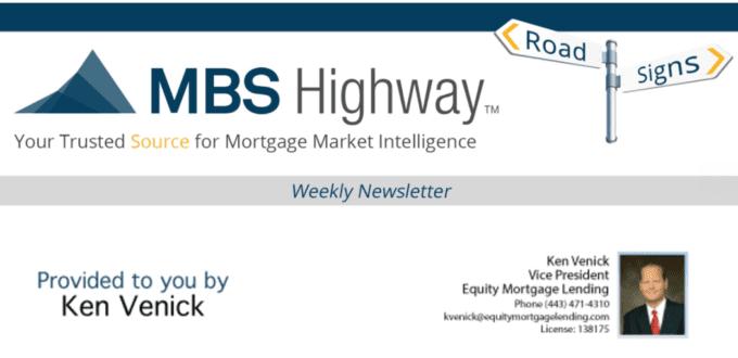 Weekly Review - Owings Mills Mortgage Update