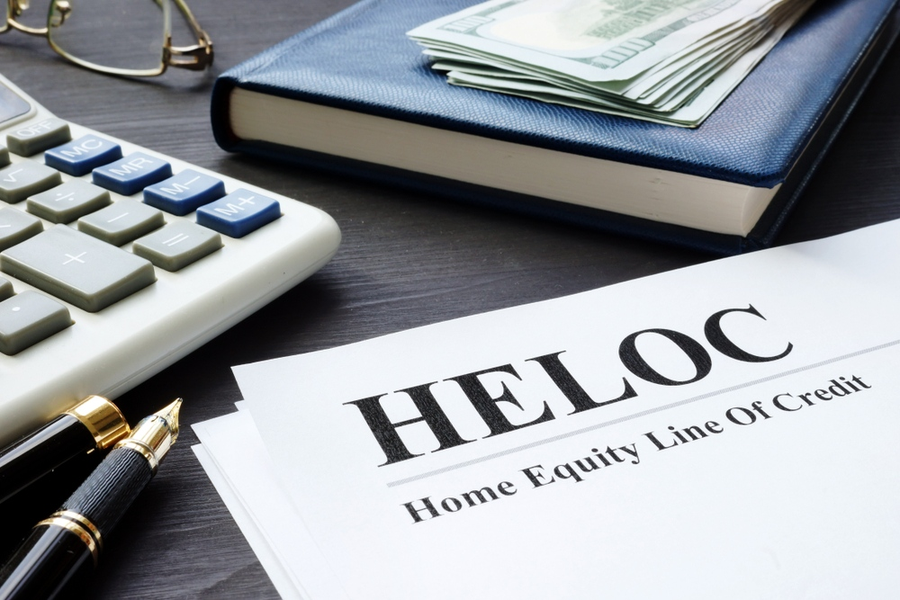 HELOC with Equity Mortgage